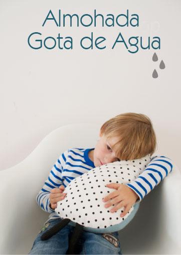 Almohada Gota De Agua Aprende Hacerla Reciclando Un Jersey Antiguo