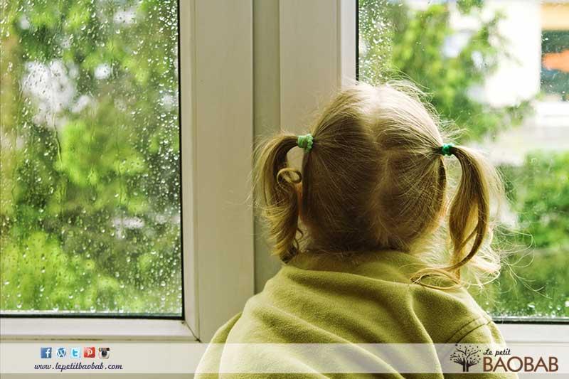 dia de lluvia con niños