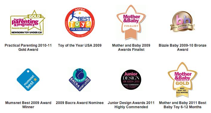Captura de pantalla 2013 05 16 a las 22.36.37 - Sophie la Jirafa, el juguete que adoran los bebés de las celebrities