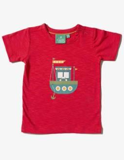 Camiseta Algodón Orgánico Little Green Radicals - Barco