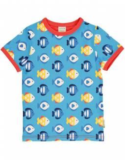 Camiseta Orgánica MAXOMORRA - Peces