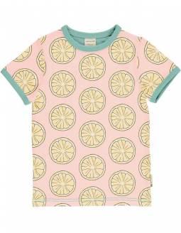 Camiseta Orgánica MAXOMORRA - Limón