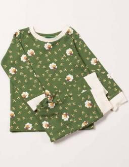 Pijama Algodón Orgánico Little Green Radicals - Ovejas