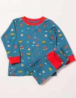 pijama-bebe-algodon-organico-little-green-radicals-bosque