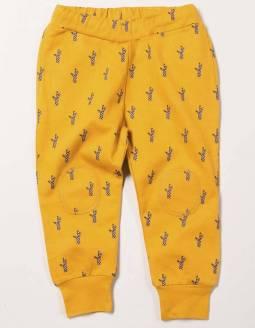 pantalon-bebe-algodon-organico-little-green-radicals-amarillo