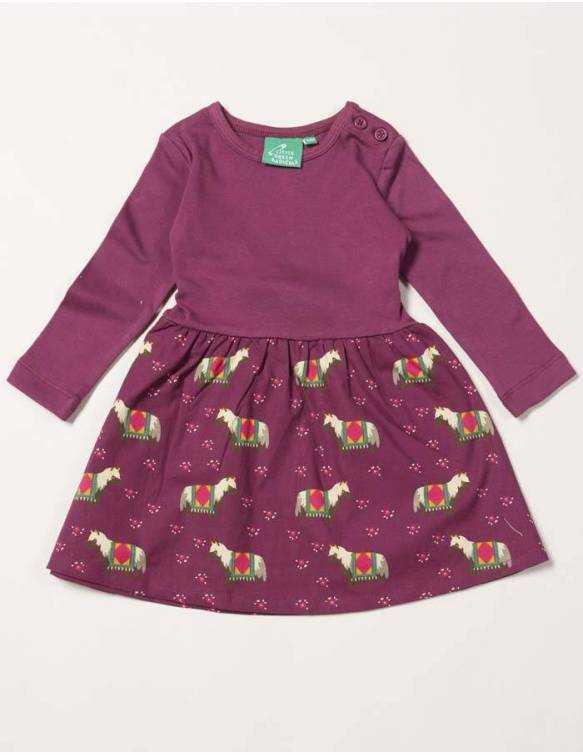 vestido-bebe-algodon-organico-little-green-radicals-caballos