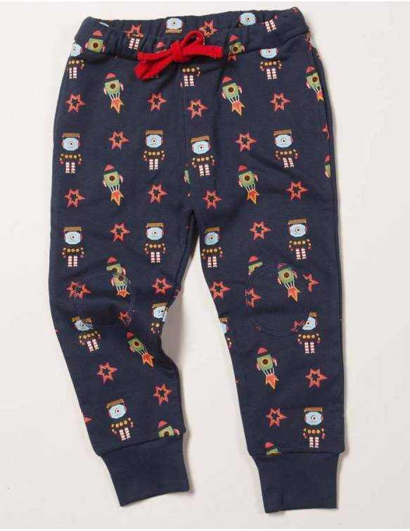 pantalon-bebe-algodon-organico-little-green-radicals-cohetes