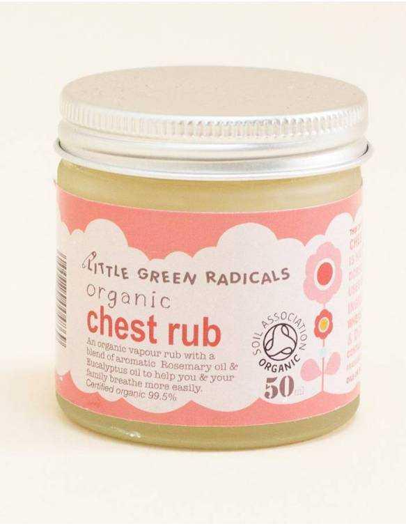 Descongestionante orgánico LITTLE GREEN RADICALS - Chest Rub