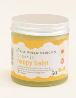 Bálsamo para cambio de pañal orgánico LITTLE GREEN RADICALS - Nappy Balm