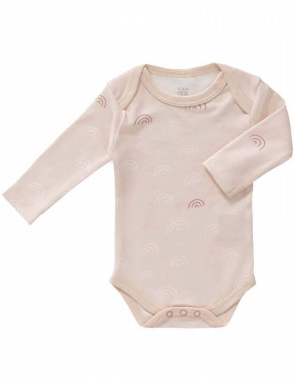 body-manga-larga-algodon-organico-fresk-arcoiris-rosa