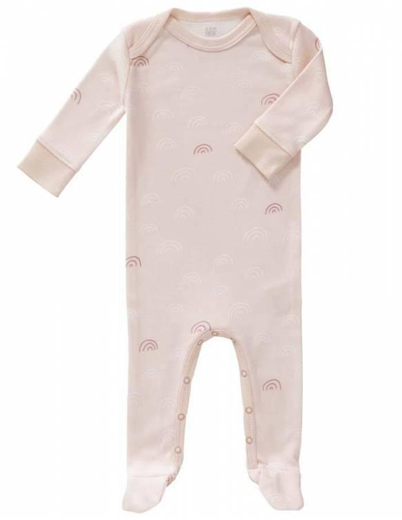 pelele-con-pies-algodon-organico-fresk-arcoiris-rosa