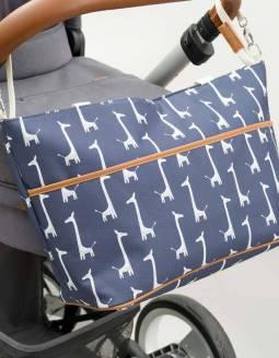bolso-carrito-bebe-reciclado-fresk-jirafa-cochecito-detalle