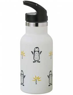 Botella Térmica Acero Inoxidable FRESK Con Boquilla De Recambio - Pingüino
