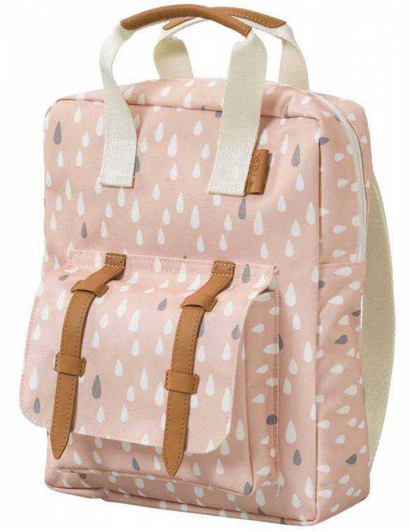 mini-mochila-preescolar-reciclada-fresk-gotas-rosas-lado