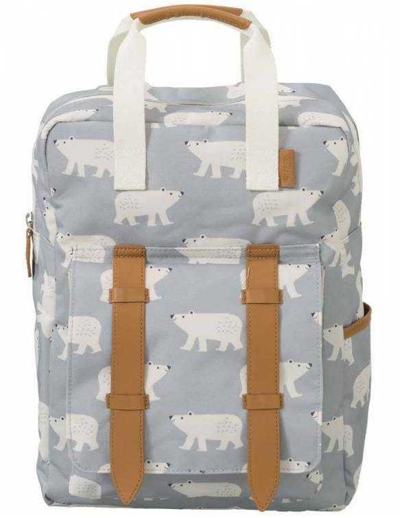 mochila-infantil-colegio-reciclada-fresk-oso-polar
