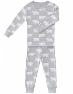 Pijama Dos Piezas Algodón Orgánico FRESK - Oso Polar