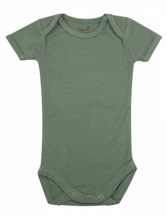 body-bebe-bambu-manga-corta-timboo-aspen-green