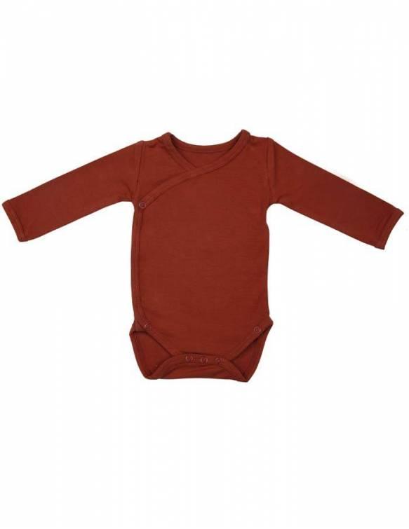 body-bebe-recien-nacido-manga-larga-bambu-timboo-rosewood