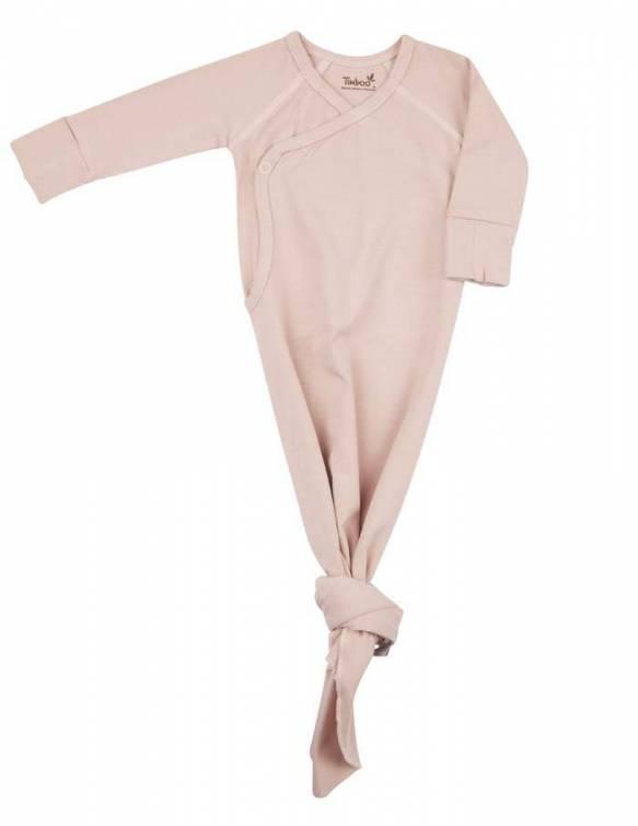 pijama-recien-nacido-bambu-nudo-timboo-misty-rose