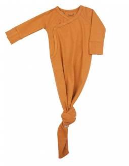 pijama-recien-nacido-bambu-nudo-timboo-inca-rust