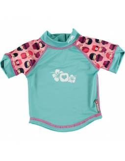 """Camiseta POP IN con filtro solar UPF50 """"Geishas"""""""
