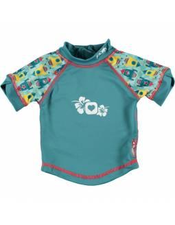 """Camiseta POP IN con filtro solar UPF50 """"Cohete"""""""