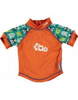"Camiseta POP IN con filtro solar UPF50 \""Monster Herman\\"""
