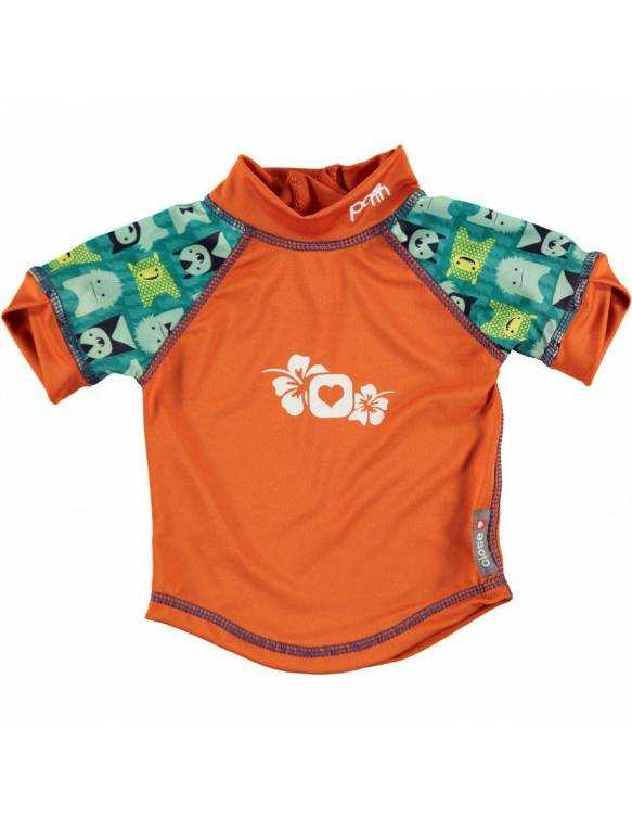 "Camiseta POP IN con filtro solar UPF50 ""Monster Herman"""