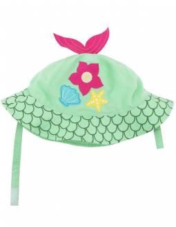Gorro Bebé Protección Solar UPF 50 ZOOCCHINI - Sirena