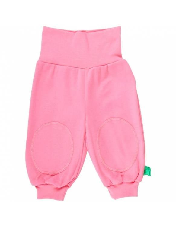 "Pantalón FRED's WORLD de algodón orgánico ""Básico Rosa"""