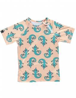 Camiseta Manga Corta Protección Solar UPF50 - Green Lizard