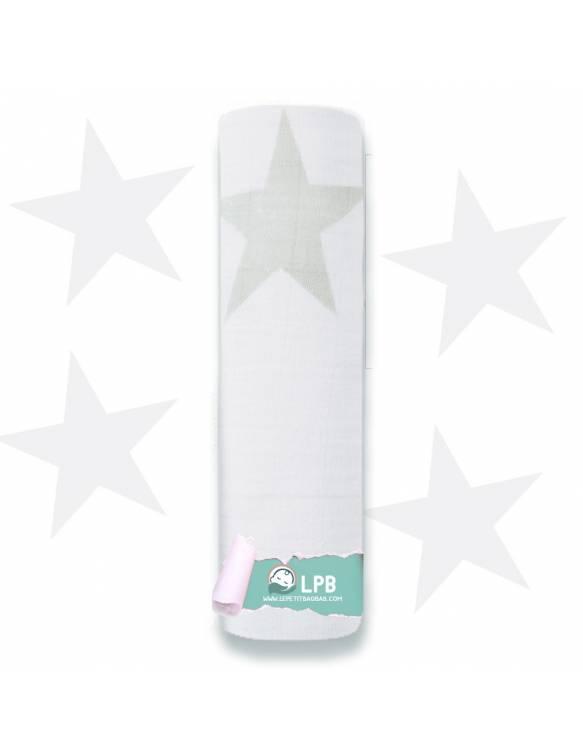 "Muselina individual aden+anais de algodón ""Twinkle - Súper Estrella"""