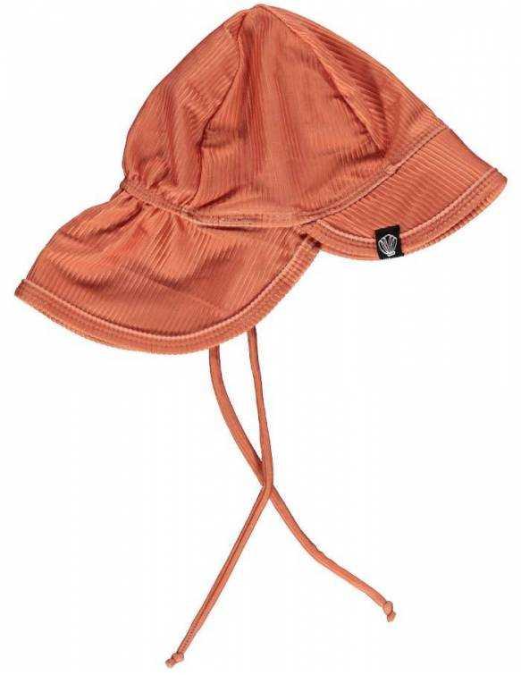gorro-bebe-proteccion-solar-upf50-beach-bandits-clay-ribbed