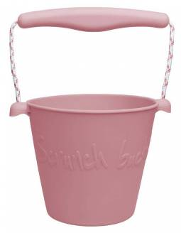 cubo-playa-silicona-enrollable-scrunch-pink