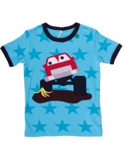 """Camiseta FRED's WORLD de algodón orgánico """"Sobre Ruedas"""""""