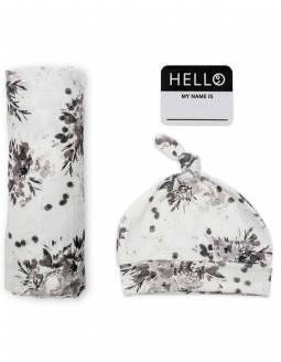 conjunto-muselina-bambu-gorro-lulujo-flores