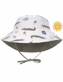 Gorro Baño Reversible Protección Solar UPF80+ LASSIG - Cocodrilos