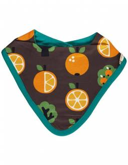 babero-maxomorra-algodon-organico-le-petit-baobab-naranjas