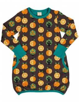 vestido-globo-maxomorra-algodon-organico-le-petit-baobab-naranjas