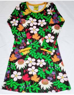 vestido-duns-algodon-organico-le-petit-baobab-flores-marrones