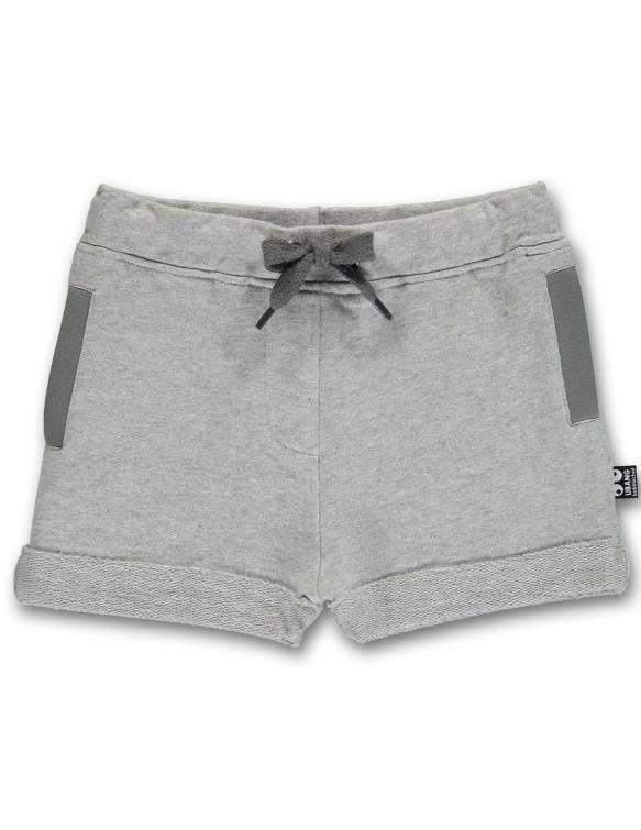 """Pantalón corto UBANG de algodón orgánico """"Gris"""""""