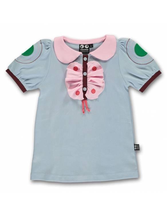 "Camiseta UBANG de algodón orgánico ""Mariposa"""