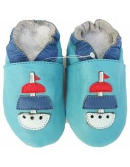 "Zapatos de gateo ecológicos \\""Velero\\"""
