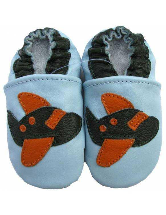 """Zapatos de gateo ecológicos """"Avión"""""""