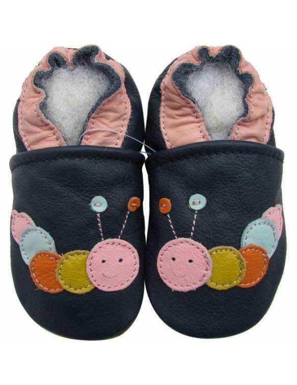 """Zapatos de gateo ecológicos \\""""Gusanito\\"""""""