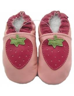 "Zapatos de gateo ecológicos \\""Fresas\\"""
