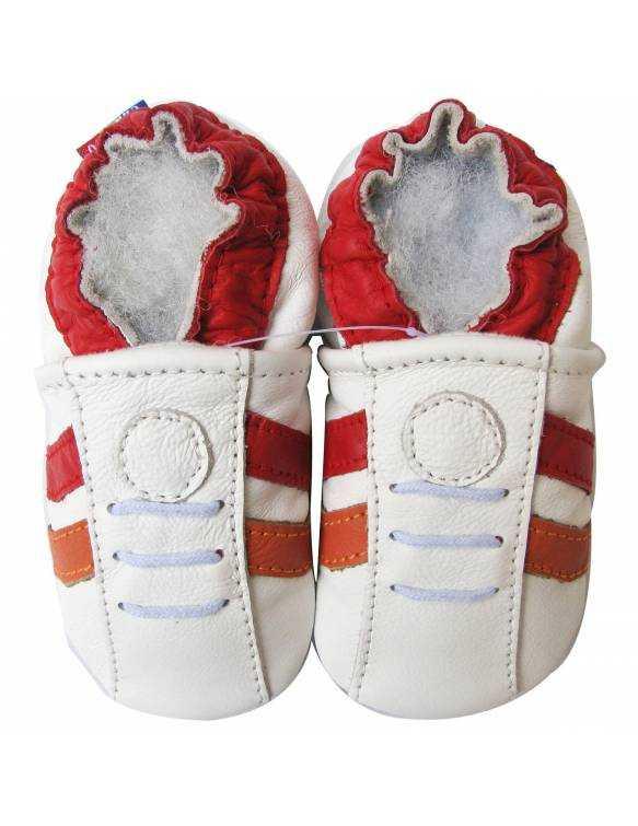 """Zapatos de gateo ecológicos """"Sport Rojo"""""""