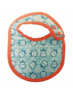 "Babero reversible POP IN ""Hippo"