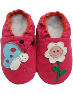 """Zapatos de gateo ecológicos """"Margarita y Mariposa"""""""