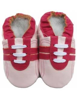 """Zapatos de gateo ecológicos """"Sport Rosa"""""""